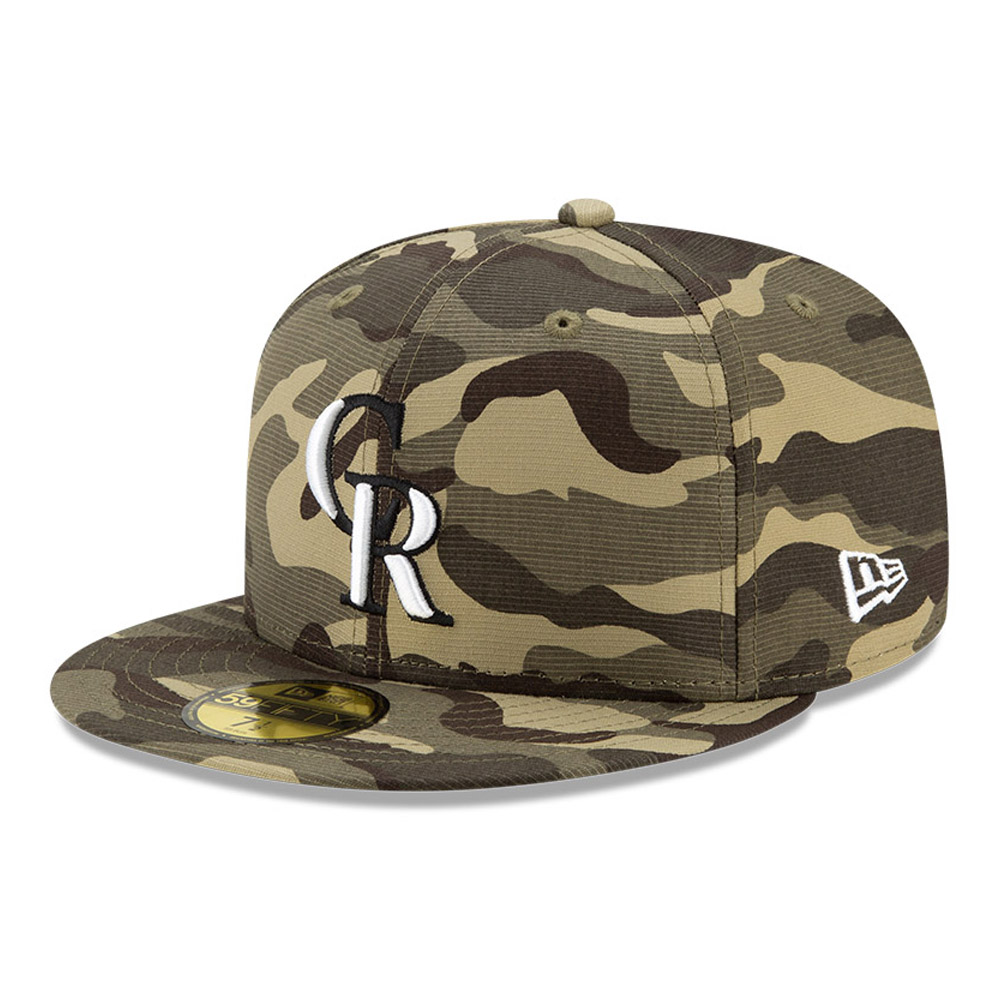 Casquette59FIFTYColorado RockiesMLBArmed Forces