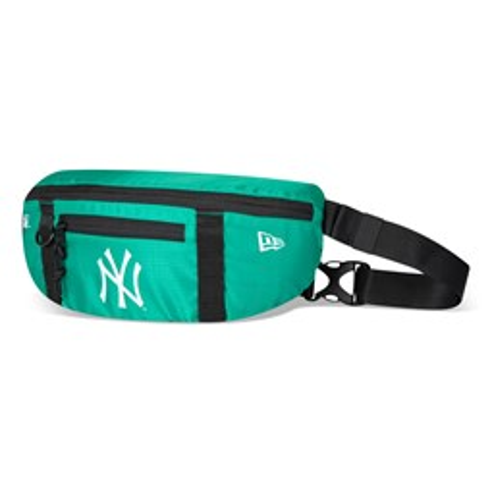 Riñonera New York Yankees, verde azulado
