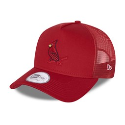 St Louis Cardinals Elemental Red A-Frame Trucker Cap