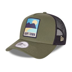 NEW ERA – Trucker – Summer Patch – A-Frame-Kappe in Khaki