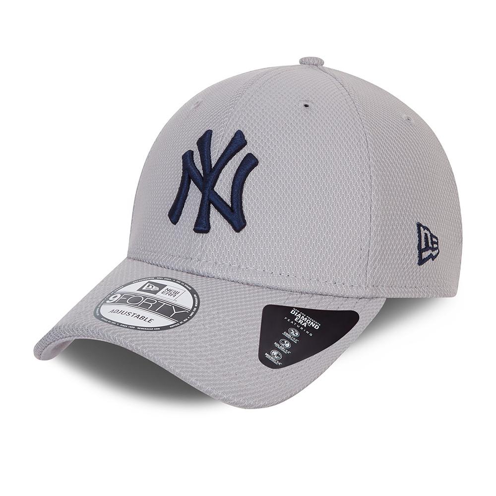 Gorra New York Yankees Diamond Era 9FORTY, gris