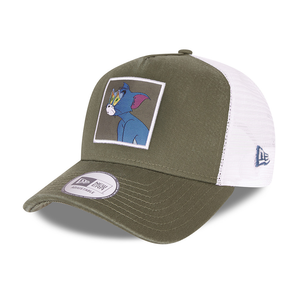 Casquette TruckerTom and Jerry Character Grey A-Frame, kaki