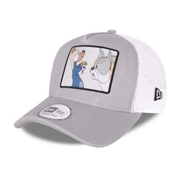 Casquette TruckerTom and Jerry Character Grey A-Frame, grise