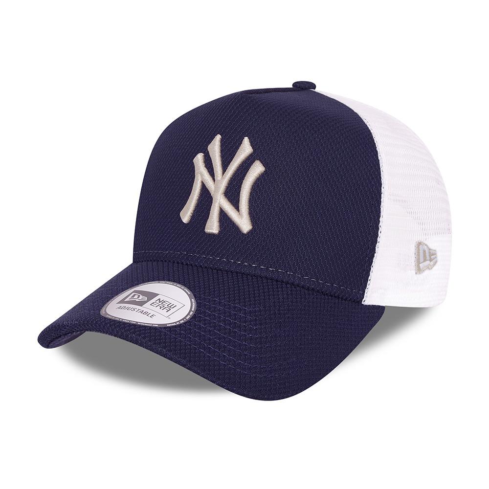 CasquetteA-FrameTruckerNew York YankeesDiamond Era, bleu marine
