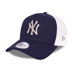 Casquette A-Frame Trucker New York Yankees Diamond Era, bleu marine