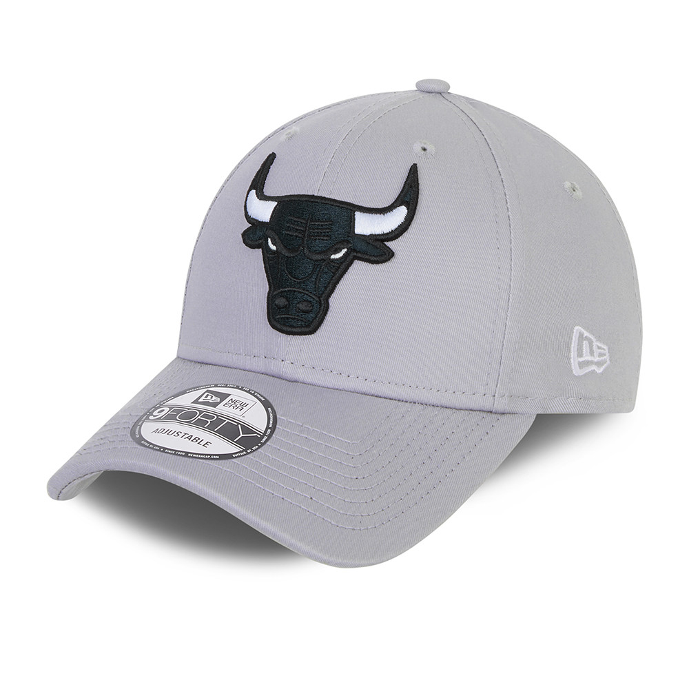 Gorra Chicago Bulls NBA Grayscale  9FORTY, gris