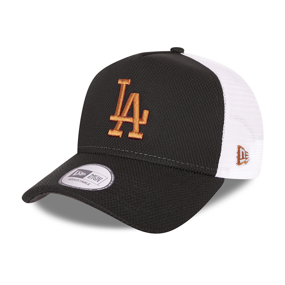 Trucker – LA Dodgers – Diamond Era – A-Frame-Kappe in Schwarz