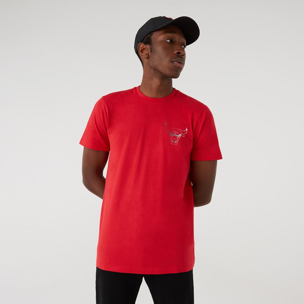 T-shirtChicago BullsNBAFade, rouge