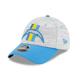 Gorra LA Chargers NFL Training 9FORTY Stretch Snap, azul
