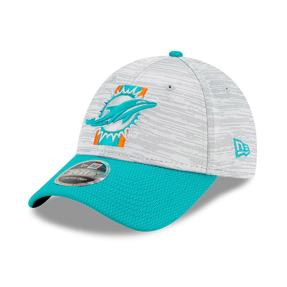 9FORTY Stretch Snap – Miami Dolphins – NFL Training – Kappe in Blau mit Clipverschluss