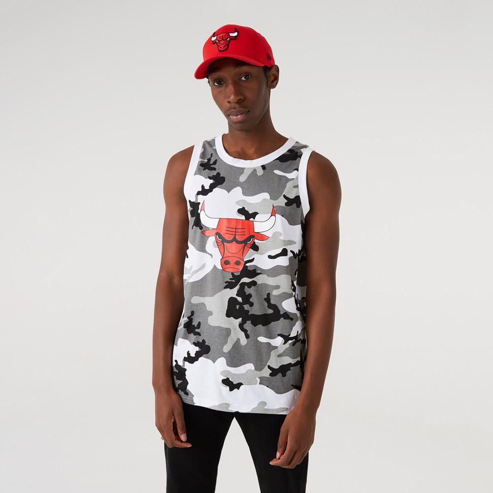 Camiseta de tirantes Chicago Bulls NBA Camo Print