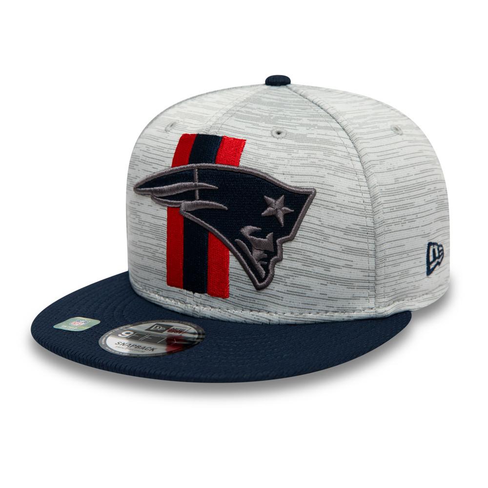 Casquette New England Patriots NFL Training 9FIFTY Bleu marine