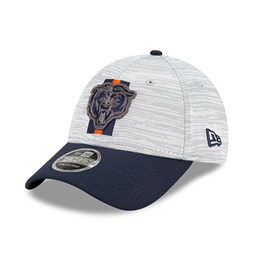 9FORTY Stretch Snap – Chicago Bears – NFL Training – Kappe in Blau mit Clipverschluss