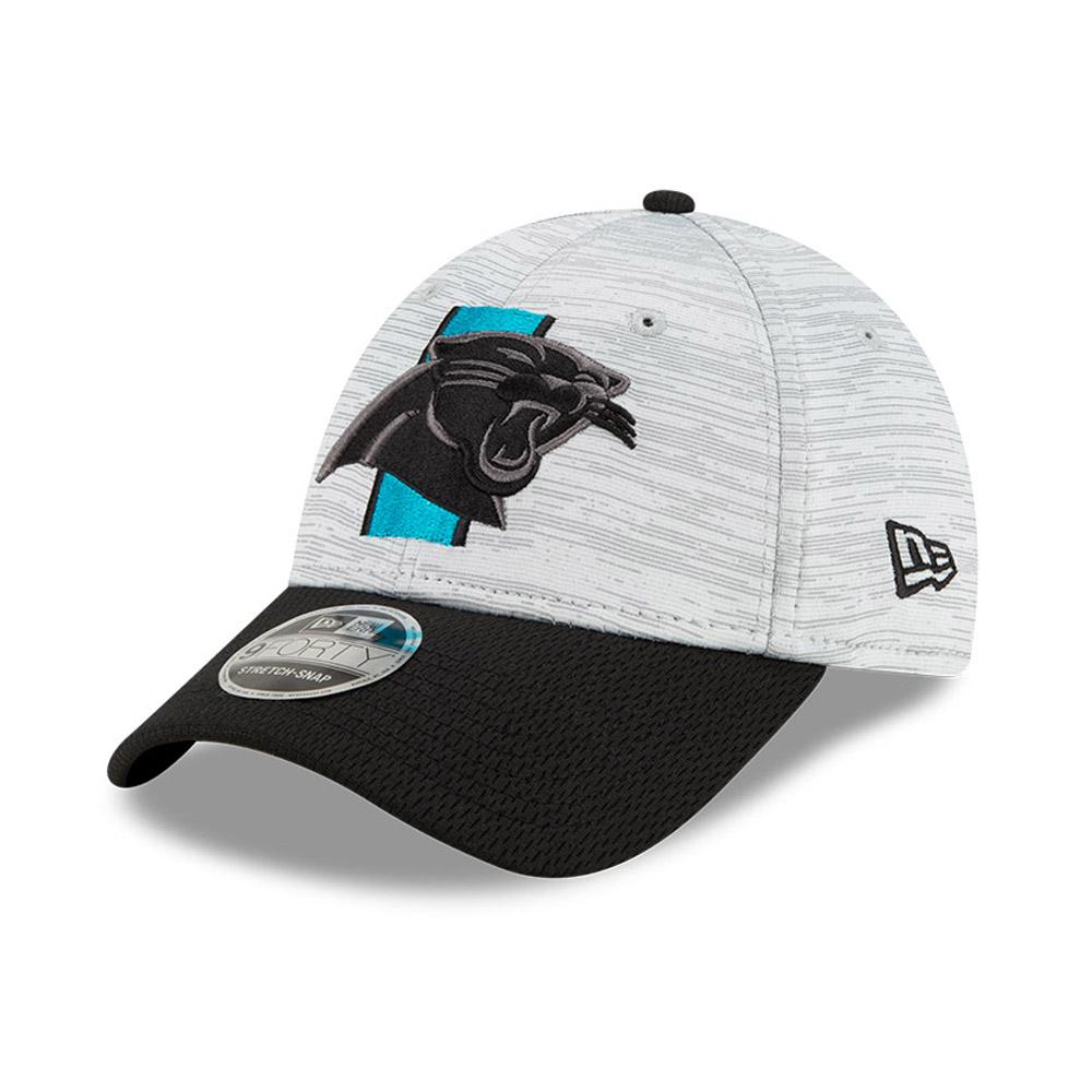9FORTY Stretch Snap – Carolina Panthers – NFL Training – Stretch-Kappe in Blau mit Clipverschluss