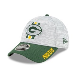 Casquette Green Bay Packers NFL Training 9FORTY Stretch Snap Vert