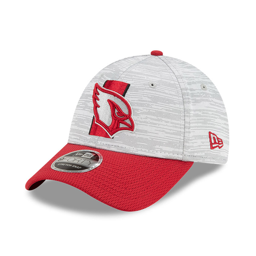 9FORTY Stretch Snap – Arizona Cardinals – NFL Training – Kappe in Rot mit Clipverschluss
