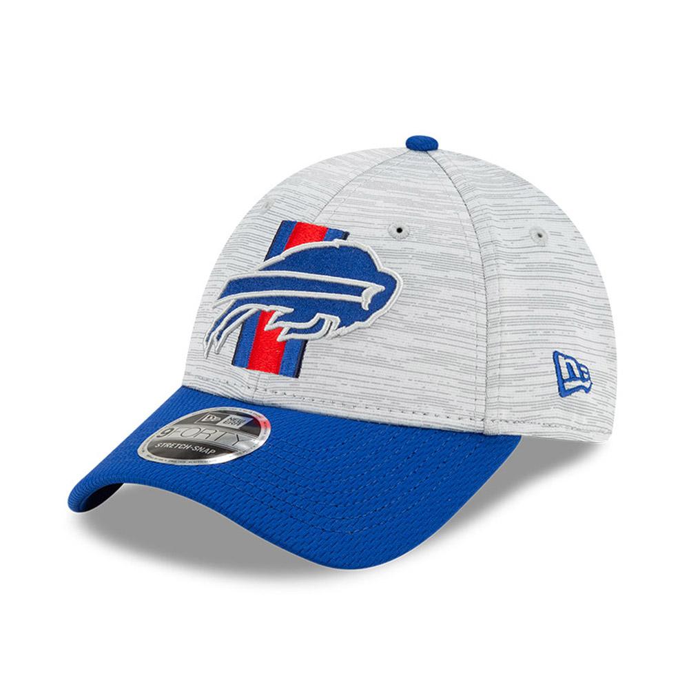 9FORTY Stretch Snap – Buffalo Bills – NFL Training – Stretch-Kappe in Blau mit Clipverschluss