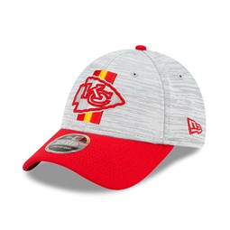 Cappellino 9FORTY Stretch Snap NFL Training Kansas City Chiefs rosso