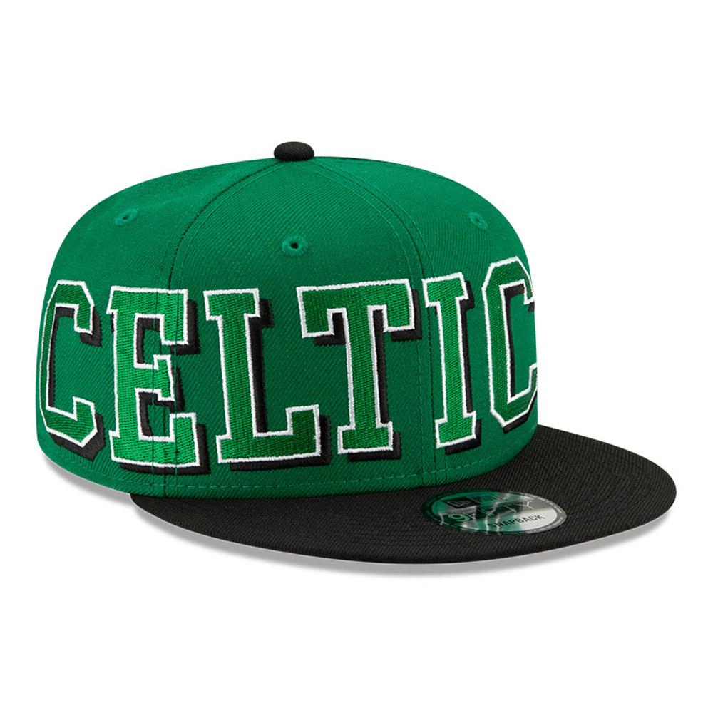 9FIFTY – Boston Celtics – NBA – Wordmark – Kappe in Grün