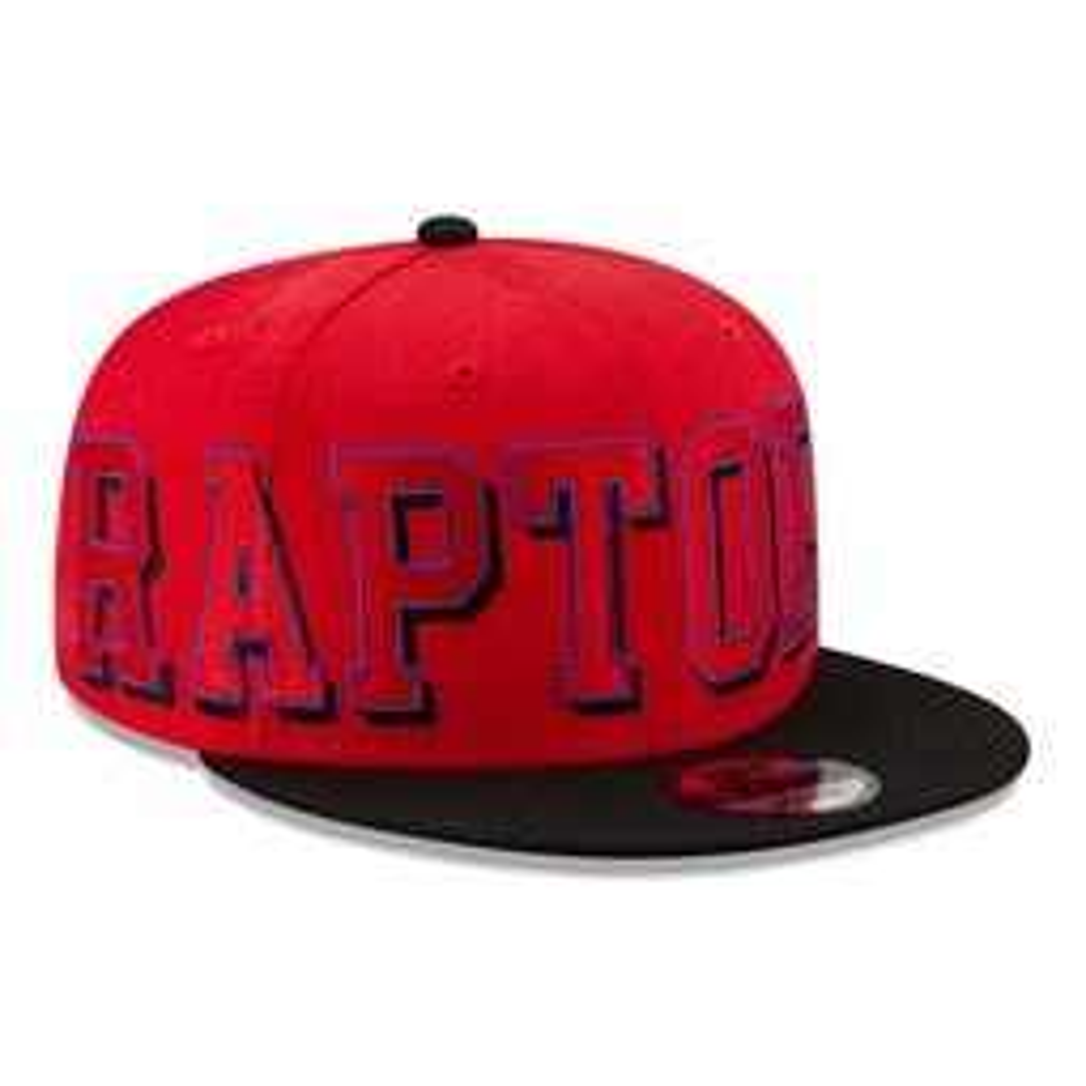 Casquette 9FIFTY  NBA Wordmark des Toronto Raptors rouge