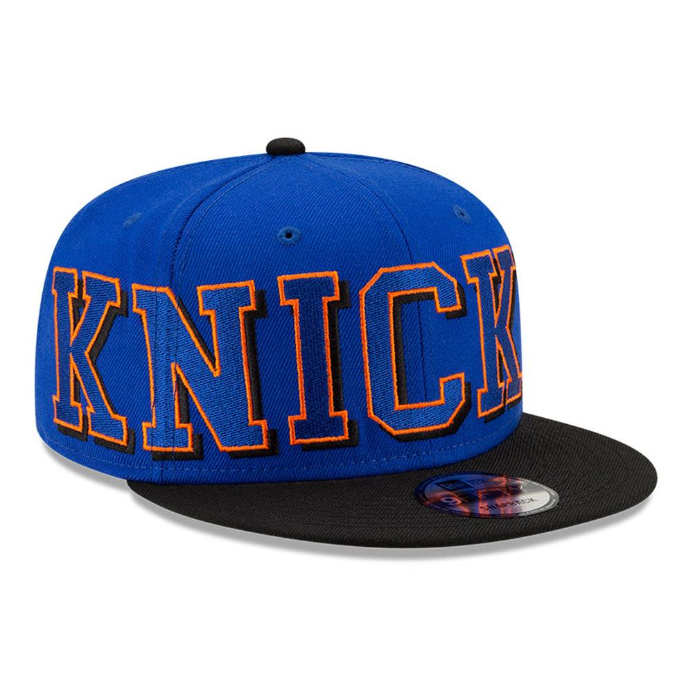 Cappellino 9FIFTY NBA Wordmark dei New York Knicks blu