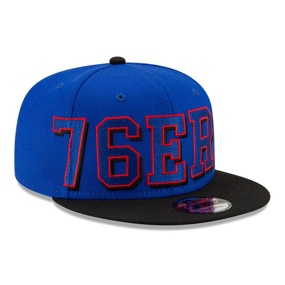 Gorra Philadelphia 76ers NBA Wordmark 9FIFTY, azul