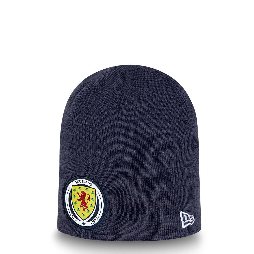 Bonnet réversible rayéScottish FA, bleu marine