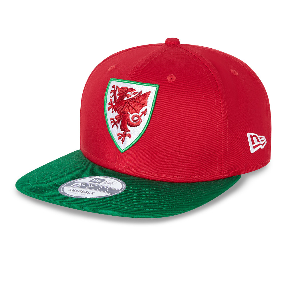 Casquette en coton9FIFTY Wales FA, rouge