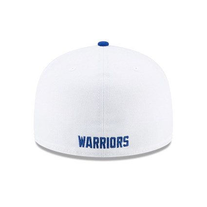 Golden State Warriors Hardwood Classic Nights White 59FIFTY Cap