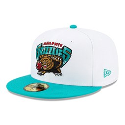 Memphis Grizzlies Hardwood Classic Nights White 59FIFTY Cap