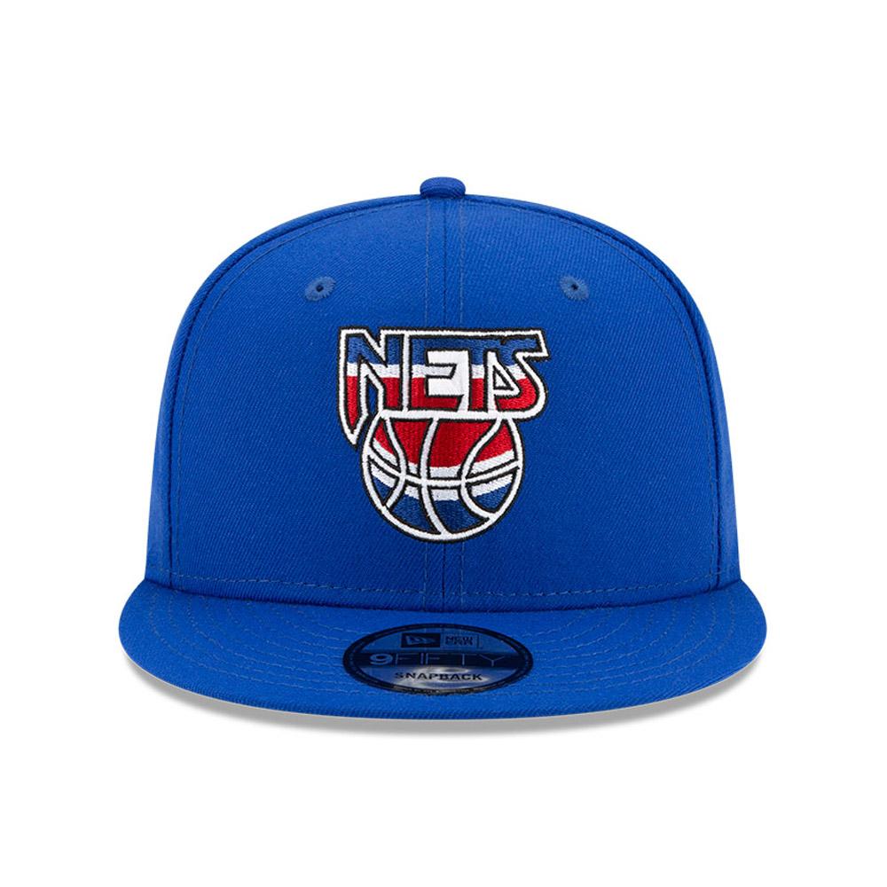 Cappellino 9FIFTY Brooklyn Nets Hardwood Classic Nights blu