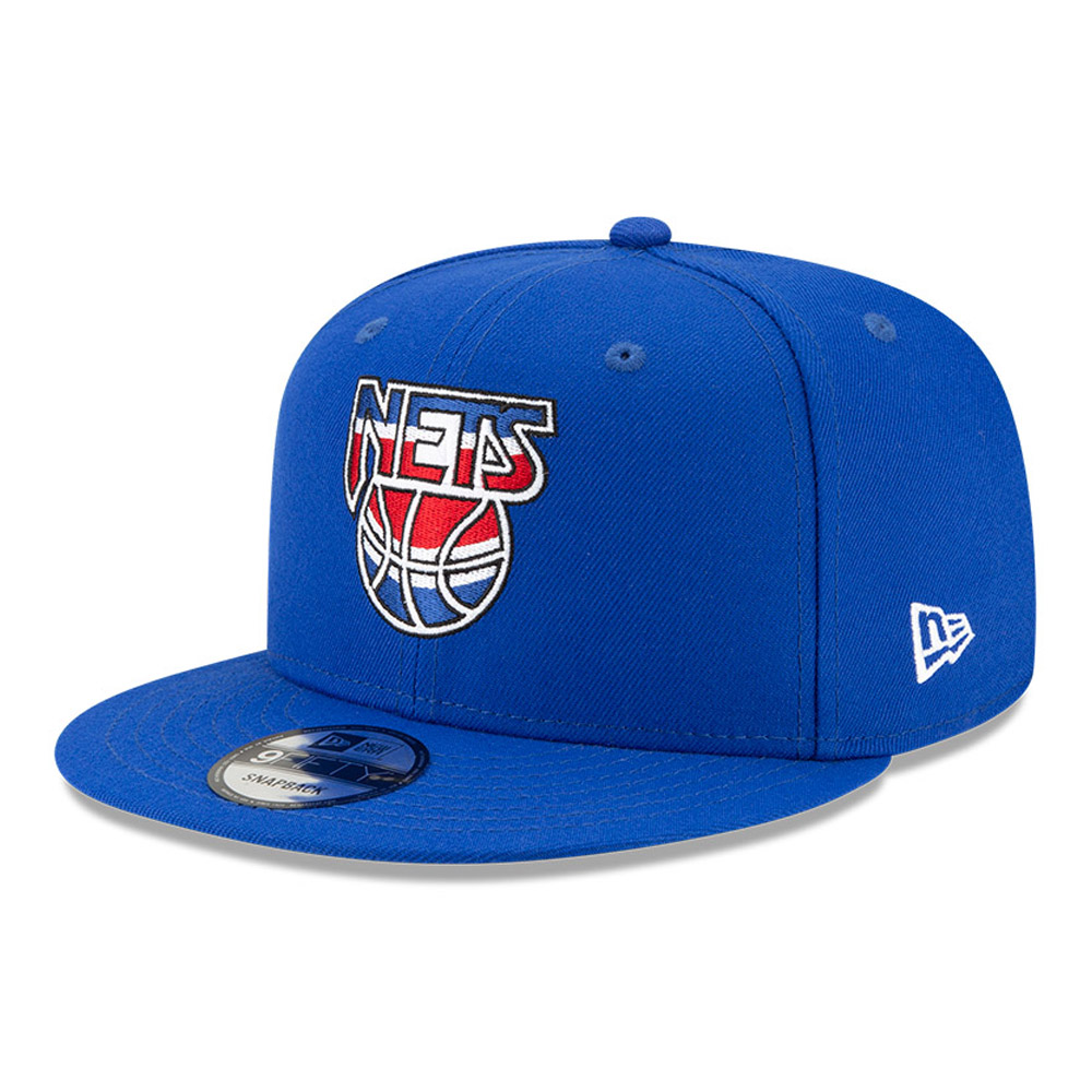 Casquette 9FIFTY Hardwood Classic Nights Brooklyn Nets bleue