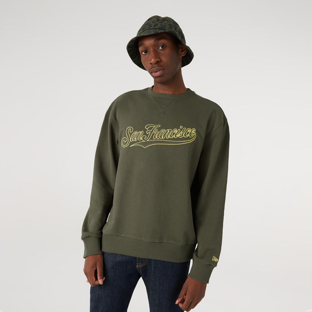 San Francisco Giants – MLB Heritage – Sweatshirt in Khaki