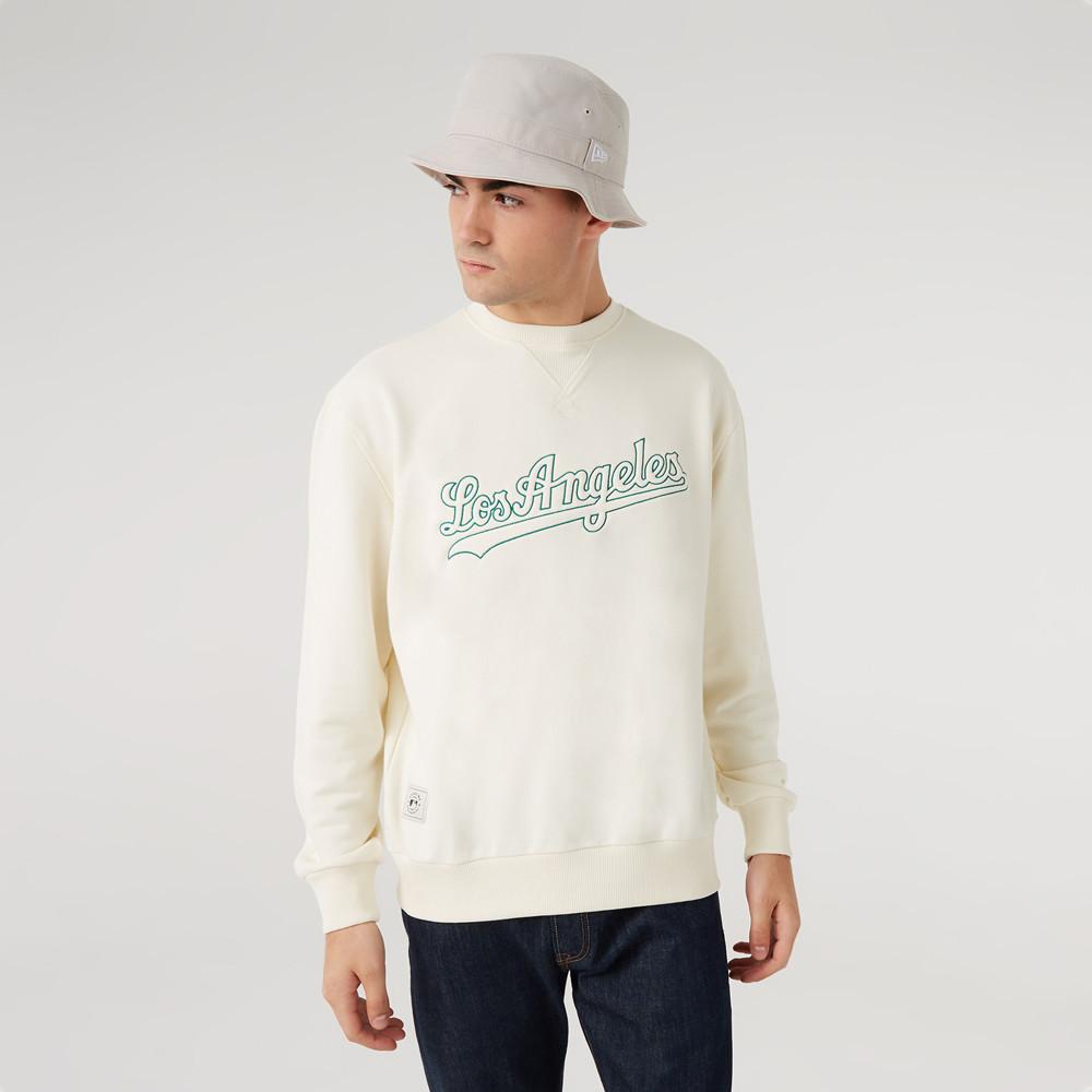 LA Dodgers – MLB Heritage – Sweatshirt in Weiß