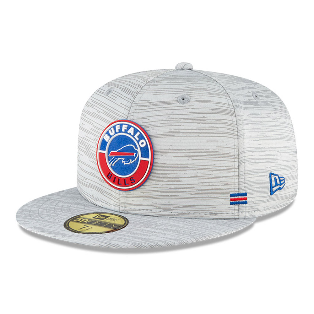 Casquette 59FIFTY Sideline des Bills de Buffalo, grise