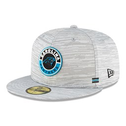 Carolina Panthers Sideline Grey 59FIFTY Cap