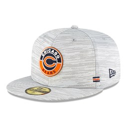 Chicago Bears Sideline Grey 59FIFTY Cap