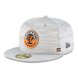 Cincinnati Bengals Sideline Grey 59FIFTY Cap