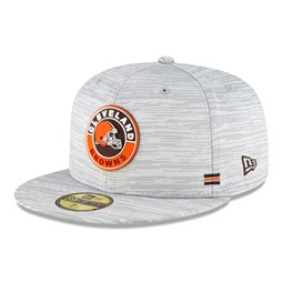 Cleveland Browns Sideline Grey 59FIFTY Cap