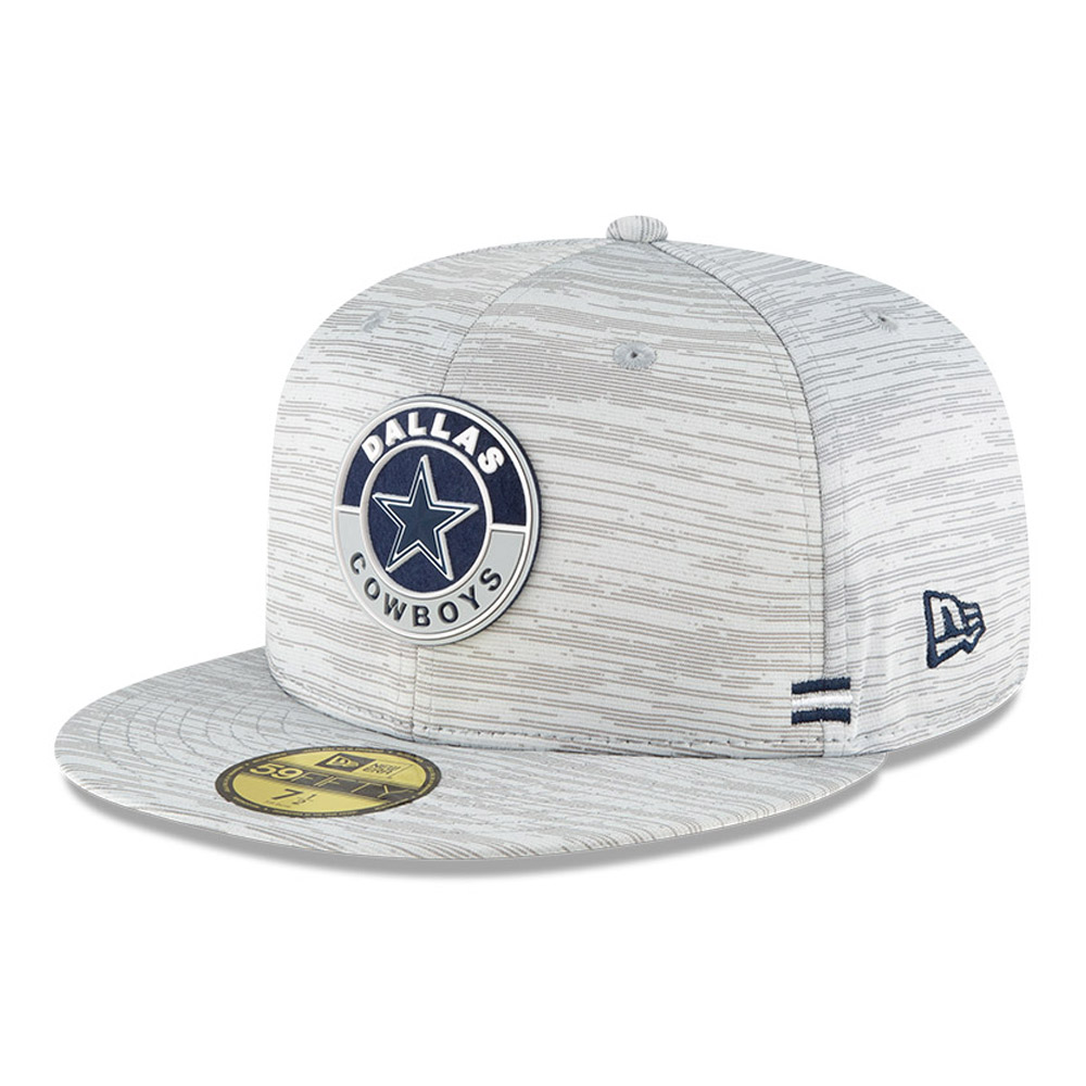 Cappellino Dallas Cowboys Sideline 59FIFTY grigio