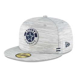 Dallas Cowboys Sideline Grey 59FIFTY Cap