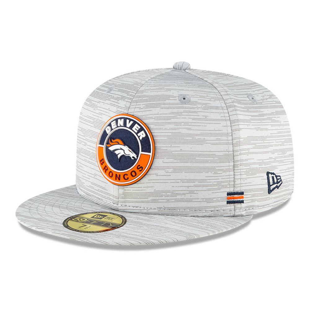 Denver Broncos Sideline Grey 59FIFTY Cap