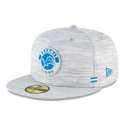 Cappellino Detroit Lions Sideline 59FIFTY grigio