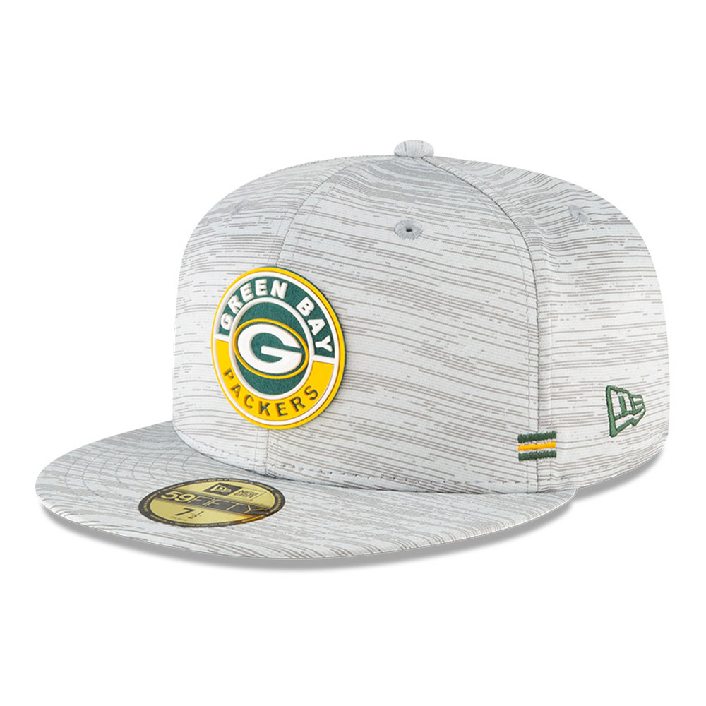 59FIFTY – Green Bay Packers – Sideline– Kappe in Grau