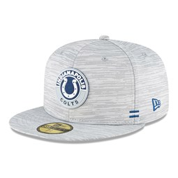 Indianapolis Colts Sideline Grey 59FIFTY Cap