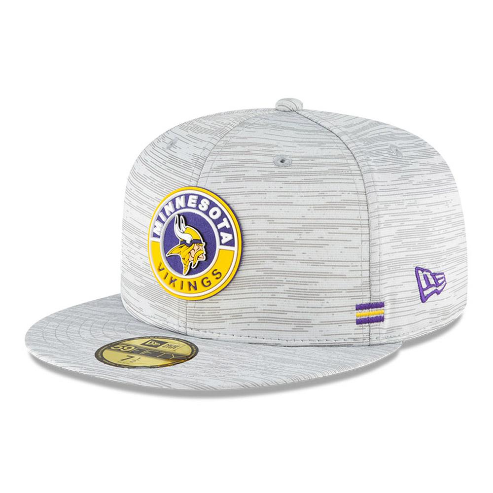 Cappellino Minnesota Vikings Sideline 59FIFTY grigio