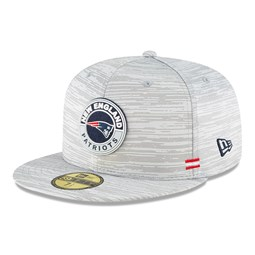 59FIFTY – New England Patriots – Sideline – Kappe in Grau
