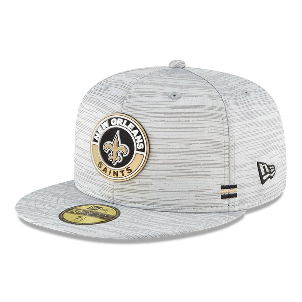 Cappellino New Orleans Saints Sideline 59FIFTY grigio