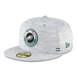 Philadelphia Eagles Sideline Grey 59FIFTY Cap