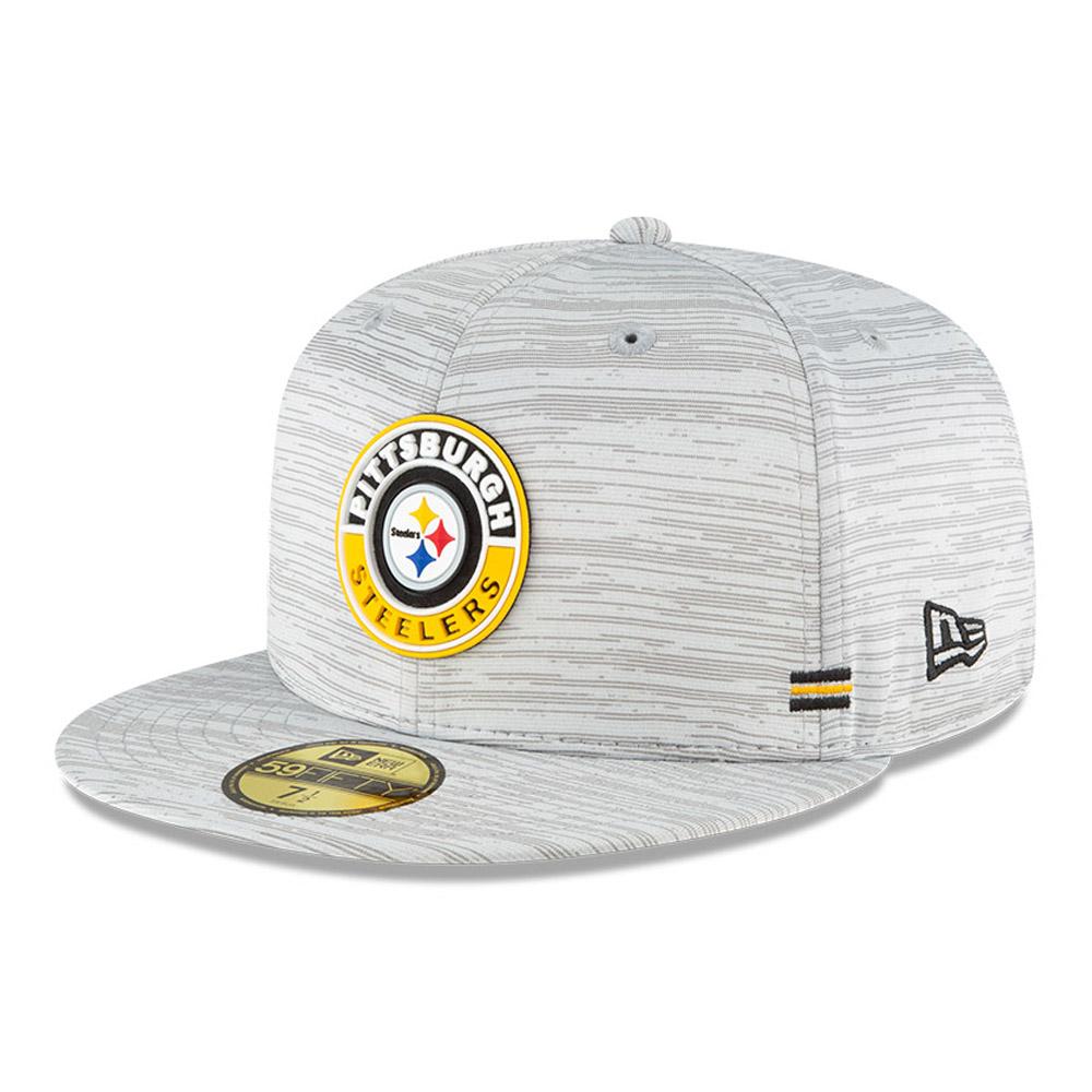 Pittsburgh Steelers Sideline Grey 59FIFTY Cap